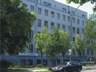 Das Senioren Centrum in der Wisbyer Straße in Berlin-Pankow liegt in der Nähe einer Parka...