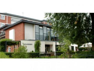 Das Haus für Pflege und Betreuung - das Johannisheim - liegt ruhig und geschützt im sch&ou...