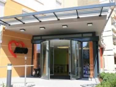 Das 2011 generalsanierte AWO Altenzentrum Remeyerhof liegt zentral in Worms, unweit des Rheins und d...