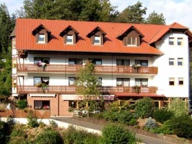 Das in Waldaschaff, einer Gemeinde im unterfränkischen Landkreis Aschaffenburg gelegene Haus Sp...
