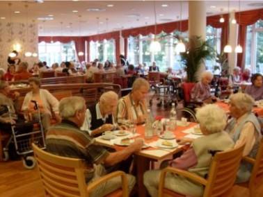 Die Küche des SenVital Senioren- und Pflegezentrums