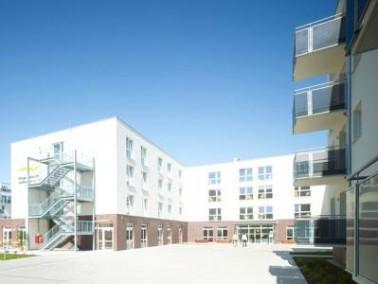 In einer neuen Wohngegend für Jung und Alt am westlichen Ringgleis von Braunschweig, befindet s...