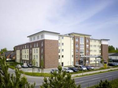 """Das moderne Pflegewohnstift """"Falkensee"""" hat Hotelcharakter und befindet sich am nordwest..."""