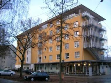 Das im November 2007 eröffnete Wichernhaus befindet sich im Karlsruher Stadtteil Mühlburg ...