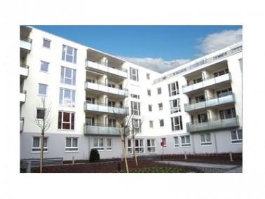 """Die Seniorenwohnanlage """"Schöntal-Höfe"""" befindet sich im Zentrum Aschaffenburgs, auf dem ehemaligen H..."""