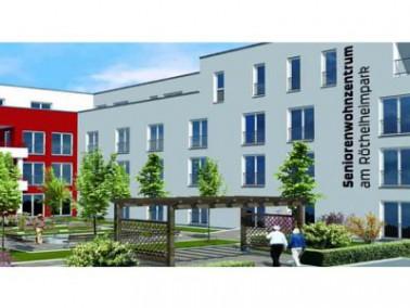 Das Seniorenwohnzentrum gehört zum neu entstandenen Stadtteil Röthelheimpark, das im &ouml...