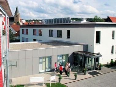 Das Altenzentrum St. Martin liegt ruhig aber zentral in der Stadtmitte von Geislingen. Nur wenige hu...