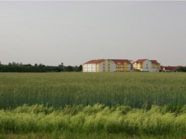 Das Senioren-Zentrum Haus Edelberg liegt am Rande des Neubaugebiets