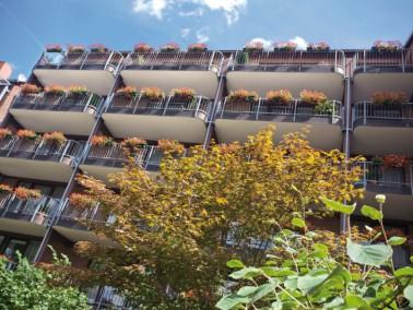 Ruhig und dennoch zentrumsnah liegt das beschauliche DANA Pflegeheim Fridastraße. Beste Wohnqu...