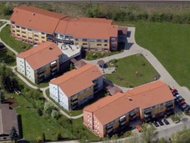 Das Phönix-Haus Gründlach liegt am südlichen Rand von Heroldsberg. Die Bewohner genie...
