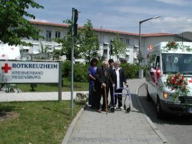 Das BRK Rotkreuzheim liegt am Rande der Regensburger Innenstadt zwischen dem Stadtpark und dem Donau...