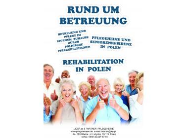 """Seit 2007 organisiert """"LIDER & Co Partner Pflegeheime"""" die Pflege und Vermittlung po..."""