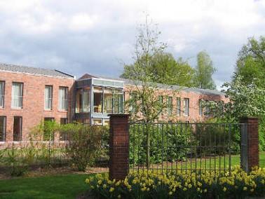 Die HANSA Seniorenwohnanlage Scheipers Hof in Rheine zählt zu einer Reihe von Wohn- und Pflegee...
