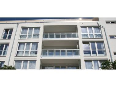 Das neue Haus des Integra Seniorenpflegezentrums Wesseling hat erst im Juni 2014 seine Türen ge...