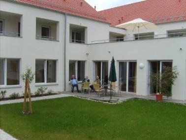 Das Gemeinschaftliche Wohnen ist eingegliedert in die neue Seniorenwohnanlage in Hohenstein-Bernloch...
