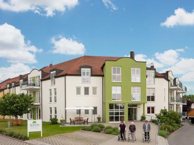 Auf halbem Weg zwischen Bamberg und der Kleinstadt Forchheim liegt das SeniVita Seniorenhaus St. Mau...