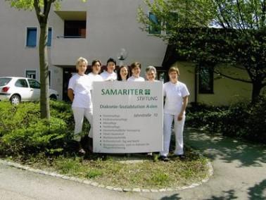 Die Diakonie- und Sozialstation Aalen der Samariterstiftung Nürtingen hilft älteren Mensch...