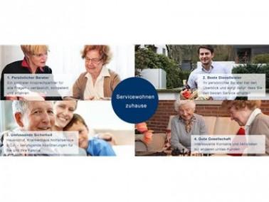 Bleiben Sie zuhause wohnen! unitas ist Ihre exklusive Alternative zu Pflegeheim und betreutem Wohnen...