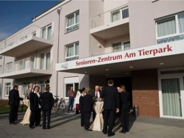 """Das im November 2011 eröffnete Senioren-Zentrum """"Am Tierpark"""" liegt nahe dem belieb..."""