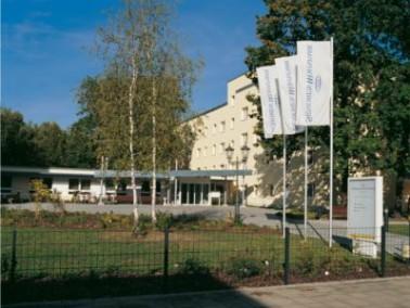 Der Senioren-Wohnpark Cottbus befindet sich in einem großen Gelände, das direkt an der Sp...