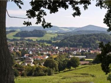 Mörlenbach liegt idyllisch im Odenwald