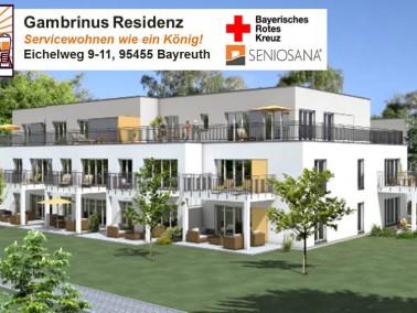 In den beiden hochwertig ausgestatteten und barrierefrei gebauten Häusern der Gambrinus Residen...