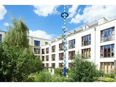 Mit einem modernen Wohnkonzept für pflegebedürftige Menschen will das KWA Luise-Kiesselbac...
