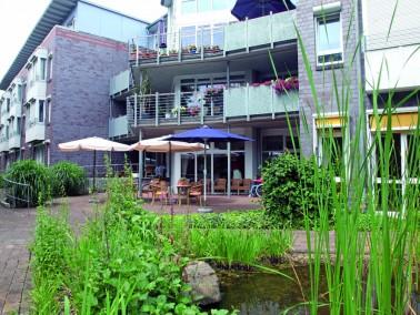 Die Lage    › Das Haus befindet sich im Stadtteil Huchting › Der namensgebende See ei...