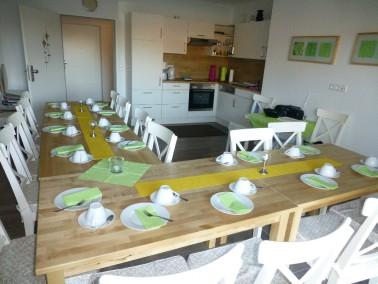 Das Haus Max besteht aus 11 Wohneinheiten und Haus Moritz verfügt über 32 Wohneinheiten so...