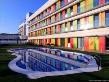Die Einrichtung   Die Residencia Sitges Park liegt in dem malerischen spanischen Küstenst&auml...