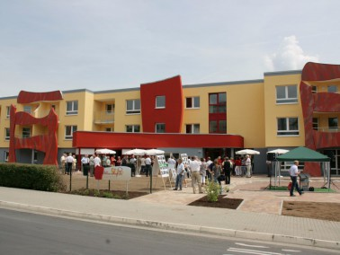 """Mit dem Wohnquartier """"Alleenhof"""" stellt sich die AWG """"Eisenach"""" eG gezielt a..."""