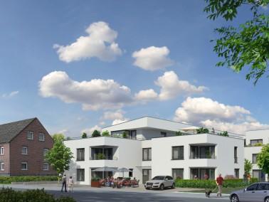 Das Gebäude wird im KfW-Effizienzhaus-70 Standard errichtet, mit erhöhtem Vollwärmesc...