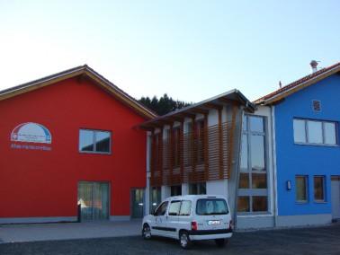 Die Ökumenische Sozialstation Brücken gGmbH liegt inmitten des Ortes Brücken in der V...