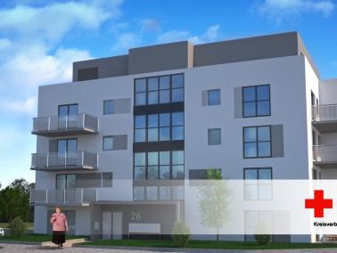 Im Ludwigshafener Stadtteil Oggersheim/Melm entstehen derzeit 20 hochwertige, barrierefreie Wohnunge...