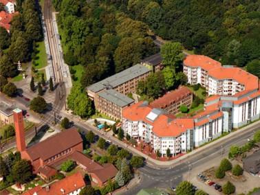 Der Wohnpark Kastanienhof liegt im Süden Hannovers in grüner Randlage mit idealer Verkehrs...