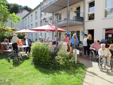 """Das Senioren-Zentrum """"Am Tempelberg"""" ist im Juli 2008 im Zentrum von Bad Doberan er&ouml..."""