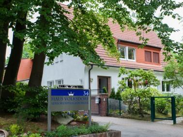 Eingebettet in einem Wohngebiet in Hamburg-Volksdorf liegt das beschauliche Seniorenpflegedomizil Ha...