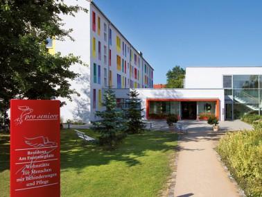 Unsere Pflegeeinrichtung befindet sich in der Spremberger Vorstadt, inmitten eines schönen Wohn...