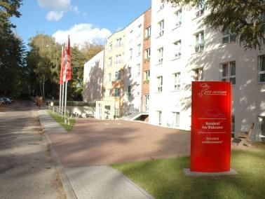 Unsere Pflegeeinrichtung liegt ganz malerisch am Ortsrand von Biesenthal, inmitten eines Waldgebiete...