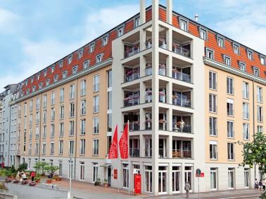 Im schönen Stadtteil Johannstadt, nahe dem historischen Zentrum und dem Elbufer liegt unsere Pf...