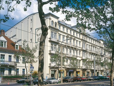 Im Dresdner Stadtteil Neustadt, nahe dem Elbufer und dem historischem Zentrum – so liegt unser...
