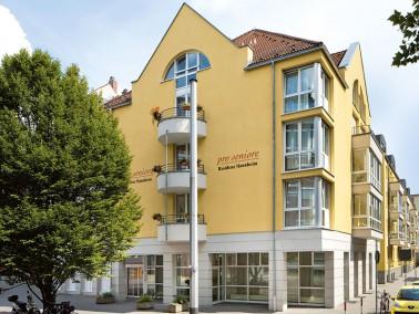 """Unsere Pflegeeinrichtung befindet sich in der """"Quadratestadt"""" Mannheim am Zusammenfluss ..."""
