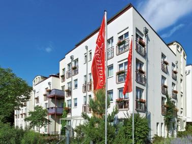 Unsere Pflegeeinrichtung liegt ruhig, aber trotzdem zentral im Nürnberger Stadtteil St. Jobst /...