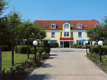 Unser Wohnpark Ebersbach liegt ganz idyllisch im Grünen, umgeben von einer attraktiven Au&szlig...