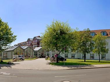 Der Luisenhof befindet sich zentral im Norden Göttingens im Stadtteil Weende. Die Gebäude ...