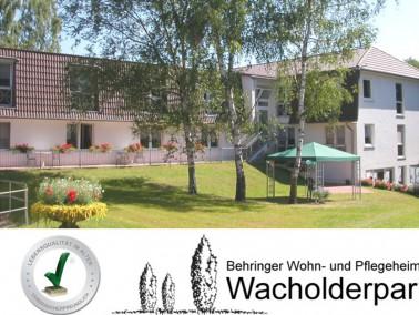 Der  Wacholderpark  ist eine klassische Einrichtung der Altenhilfe, ohne einen pflegerischen Schwerp...