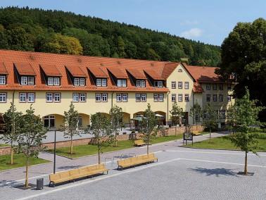 Im Ortskern von Philippsthal – einem anerkannten Erholungsort – liegt unsere Pflegeeinri...