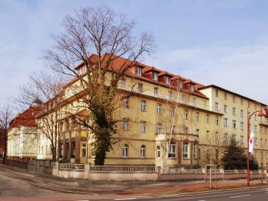 Das DRK Christianenheim befindet sich im Stadtteil Erfurt Süd gegenüber vom Steigerwaldsta...