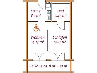 Der Sofienhof - überzeugend anders    Den Mietern unserer Senioren-Wohnanlage bieten wir einen...