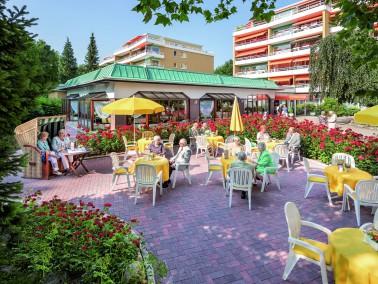 Im Mai 1975 öffnete der Rosenhof Großhansdorf 2 in der Nähe zum Schmalenbeker Teich ...